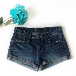 🌴 Joe's Rolled Cuff Low Rise Jean Shorts